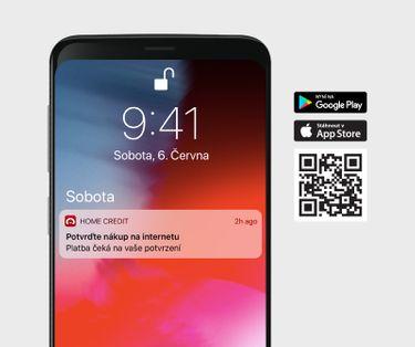 <p><strong>Kliknete na oznámení v telefonu a přihlásíte se do aplikace.</strong></p>