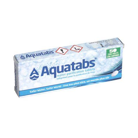 Aquatabs (tablety na čištění vody)