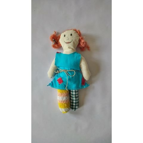 Adoptuj panenku Pipi dlouhá punčocha